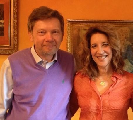 Susan Stiffelman and Eckhart Tolle